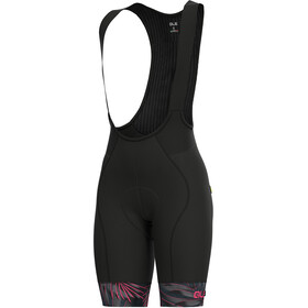 Alé Cycling Graphics PRR Sunset Bib Shorts Women black flou pink